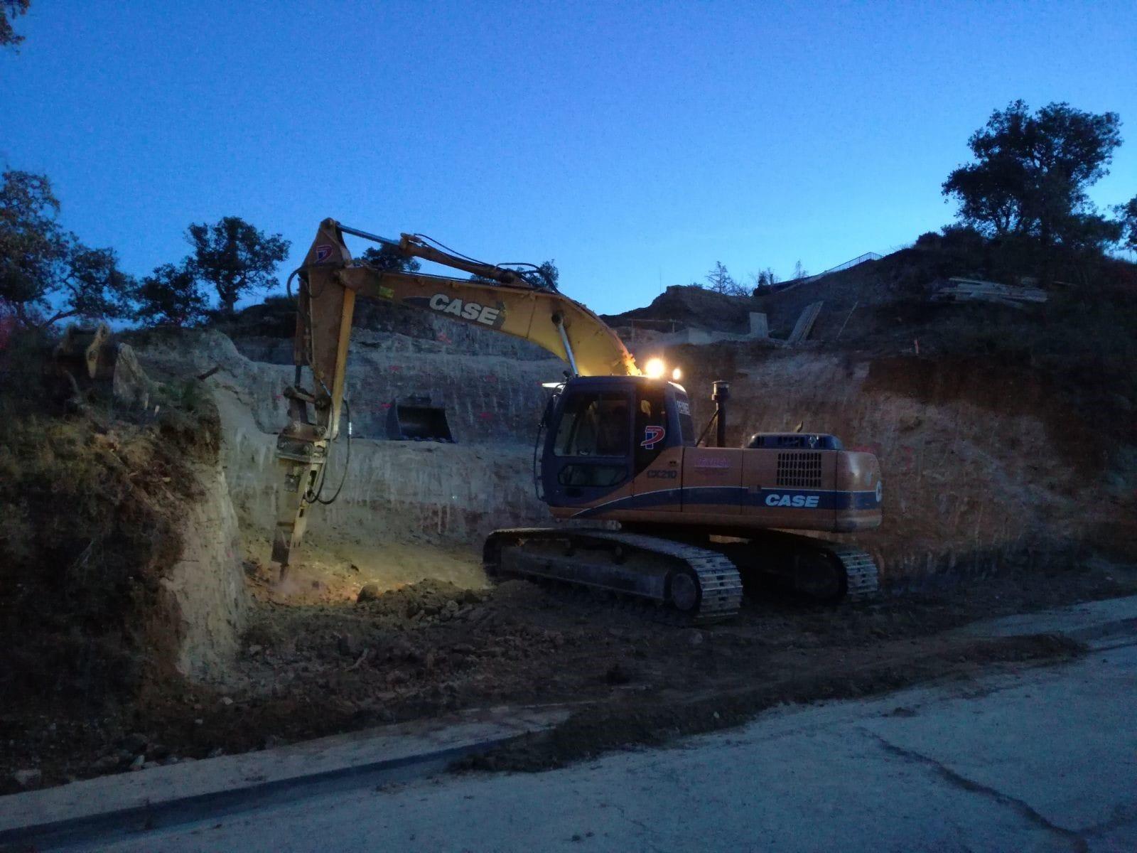excavación nocturna - peyret