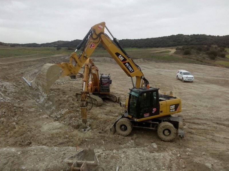 excavadoras grupo peyret